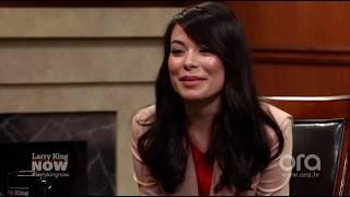 Miranda Cosgrove ospite su Larry King Now 2017