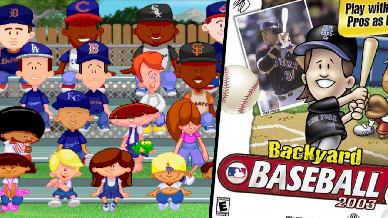 Backyard Baseball 2003 The Best Game Yet Youtube