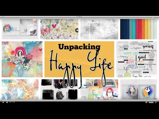 Happy Life Collection - unpacking - by NBK-Design