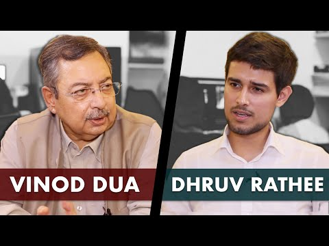 Vinod Dua Exclusive Interview with Dhruv Rathee |Media, Modi & Indira Gandhi