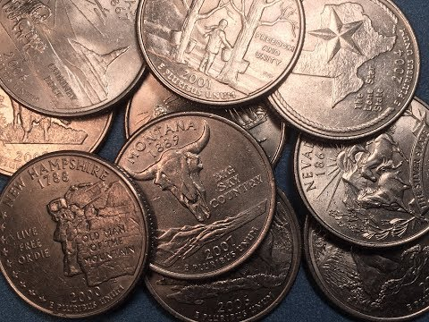 US State Quarters Top 10 List