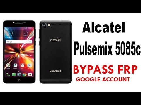 Alcatel PulseMix FRP/Google account bypass | Alcatel 5085C 100% Working
