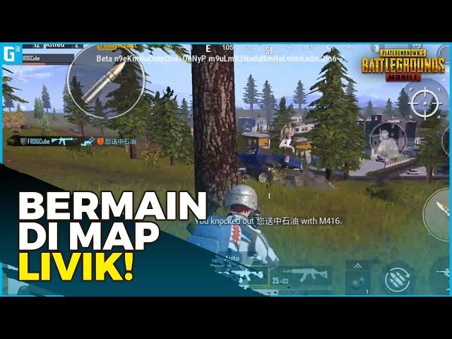 MENCOBA BERMAIN SOLO VS SQUAD DI MAP LIVIK! - Gameplay | PUBG Mobile