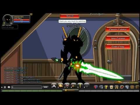 AQW - Getting Cyber Phoenix and Crystal Phoenix Blades!