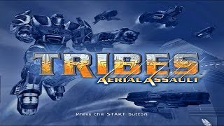 Tribes Aerial Assault PS2 Walkthrough # 1 (Training 1)