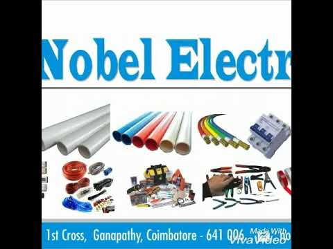 Nobel Electrical works 24/7 service Coimbatore