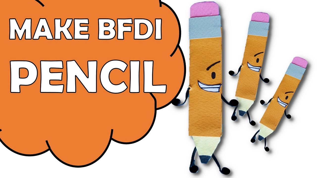how to make bfdi pencil youtube. Black Bedroom Furniture Sets. Home Design Ideas