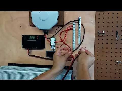 Running a 5000btu air conditioner on Harbor Freight solar panels