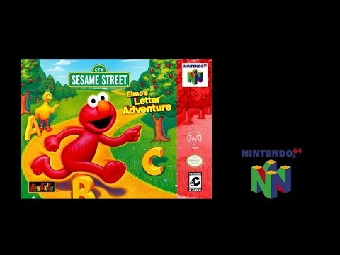 Elmo's Letter Adventure (Nintendo 64) (Playthrough) The N64 Files
