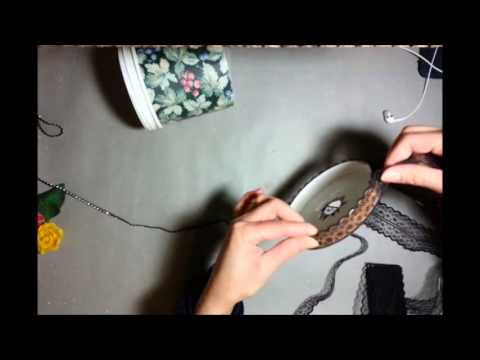 How To Make A Table Lamp , Handmade Table Lamp, Candle Lamp,
