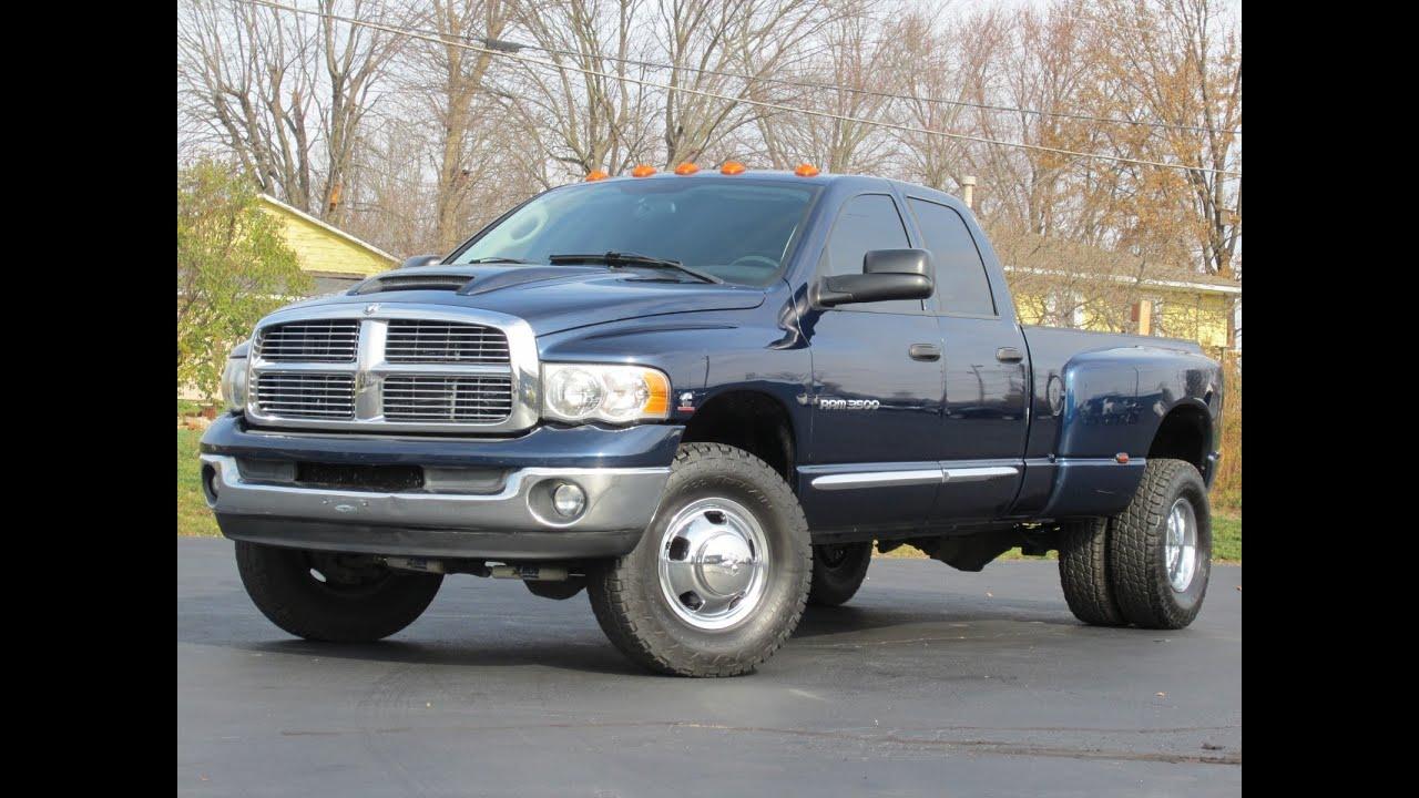 2005 dodge ram 3500 laramie 4x4 5 9l cummins diesel sold youtube [ 1280 x 720 Pixel ]