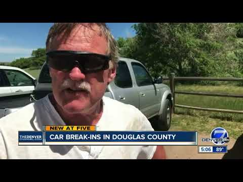 Car break-ins in Douglas County