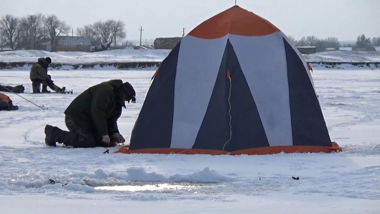 Рыбалка в балахне зимой
