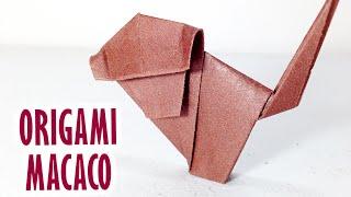 Como fazer Macaco de Origami