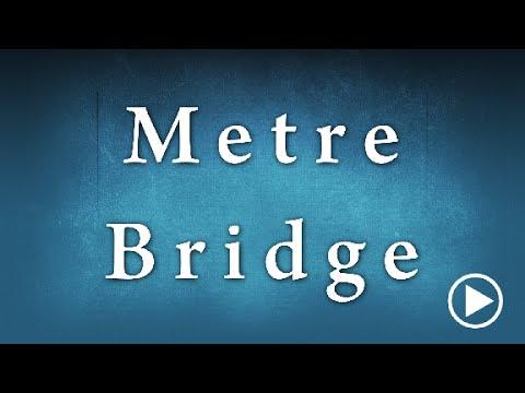 Meter Bridge Determination Of Specific Resistance Experiment Edunovus  Online Smart Practicals