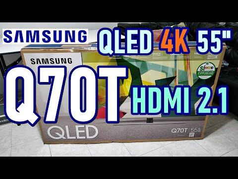 SAMSUNG Q70T QLED TV: UNBOXING REVIEW EN ESPAÑOL Y OPINIONES 2020 ¿TIENE HDMI 2.1?