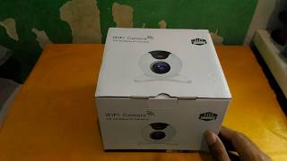 Unboxing Wifi Camera Model X8100-MH36
