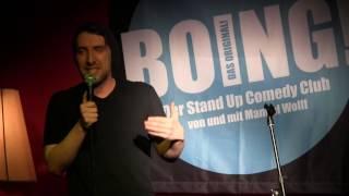 Juri von Stavenhagen im BOING Comedy Club - Energy Drinks