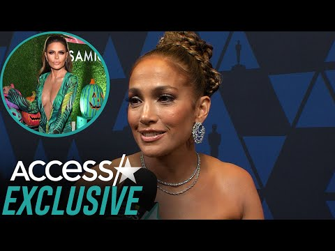Jennifer Lopez On Lisa Rinna In Her Versace Dress For Halloween: 'She Looked Awesome' (EXCLUSIVE)