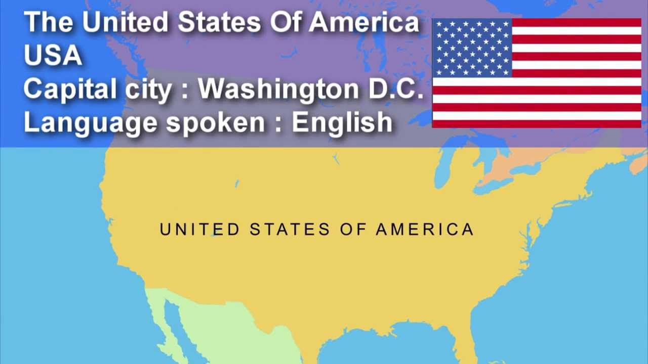 Learn Country Capital City Flag And Language Spoken Speak - Languages spoken in each country