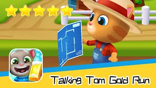 Talking Tom Gold Run Day 101 Walkthrough The best cat runner game! Recommend index five stars