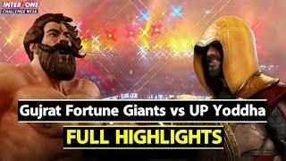Watch: Pro Kabaddi League: Gujrat Fortune Giants Beat UP Yoddha by 37-32 | Sports Tak
