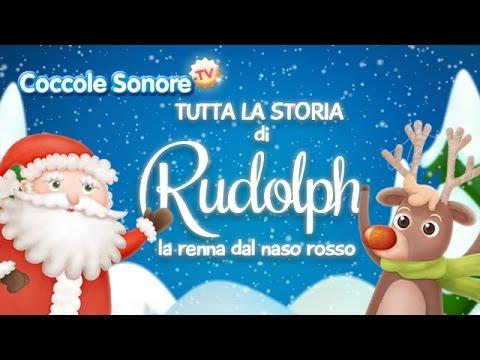 Rudolph La Renna Di Babbo Natale.La Storia Di Rudolph Completa Racconti Per Bambini Di Coccole