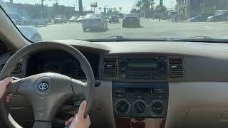 2006 Toyota Corolla LE test drive