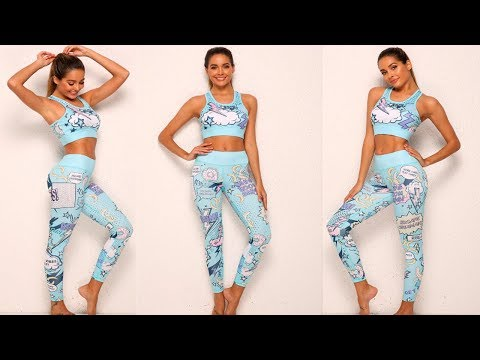 6 лучших женских спортивных костюмов для фитнеса/best Women's Fitness Suits с AliExpress