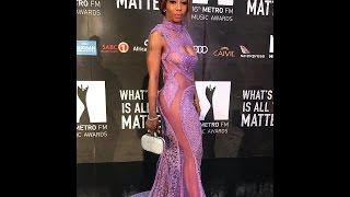 Kelly Khumalo at the Metro Awards