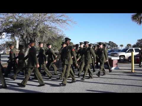 Parris Island, SC Graduation Parade 1/13/2017 (1/2)