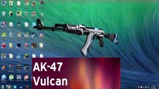 skin counter strike 1 6 ak 47 vulcan