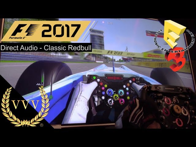 F1 2017 - Direct Audio Classic Redbull