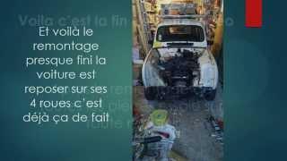 Réfection disque d'embrayage d'une Renault 4 GTL Clan
