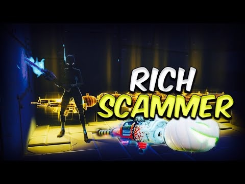 Rich Scammer Loses 10 WATER JACK O LAUNCHERS!! (Scammer Gets Scammed) Fortnite Save The World!