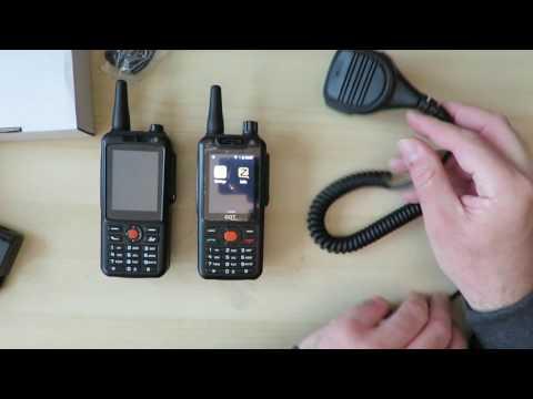 Unboxing F25 Zello POC Radio Walkie Talkie Deutsch