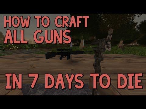 Days To Die Crafting Ammo