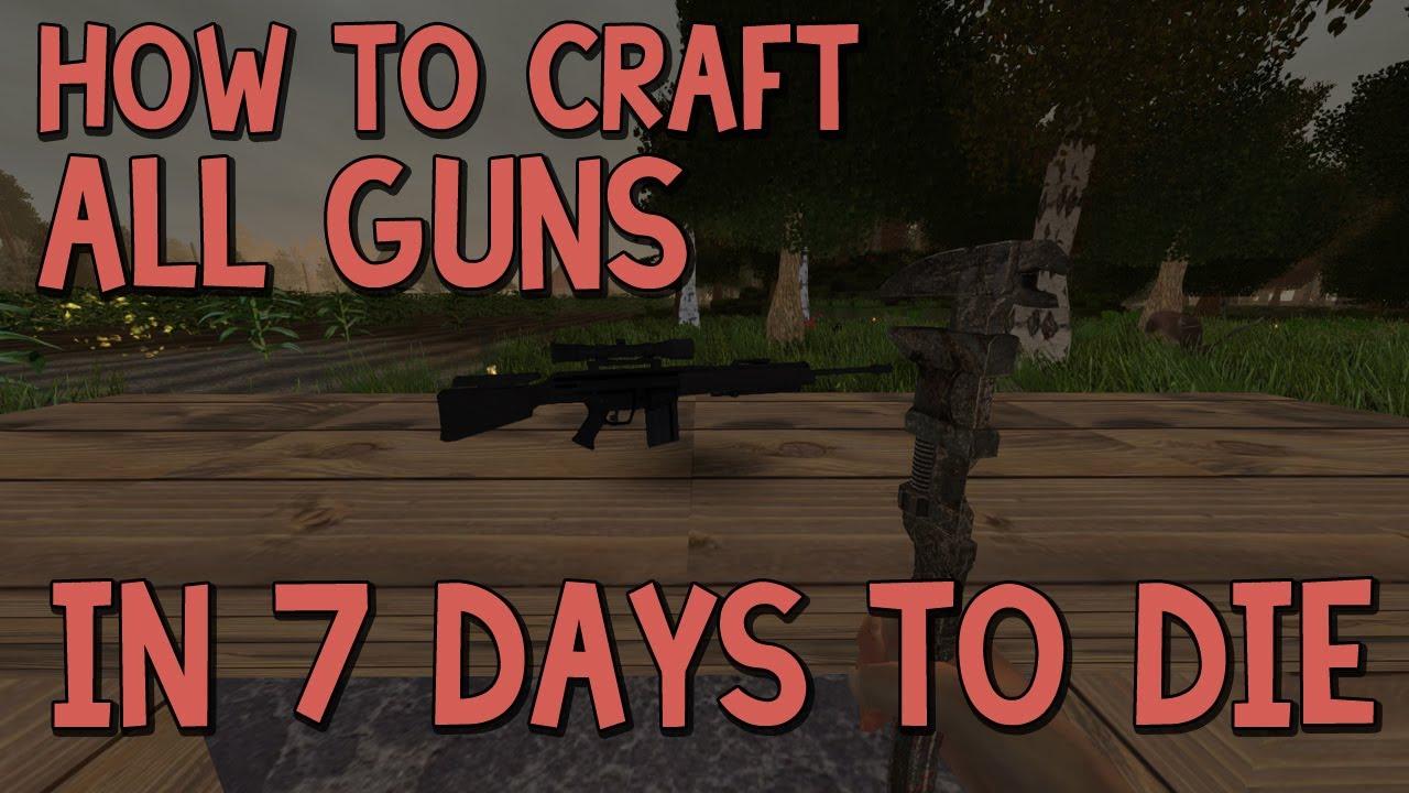 Days To Die Ammo Gun Crafting