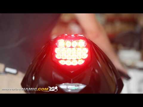 - Triumph Daytona  R Street Triple  RS Sequential LED Tail Light Smoke Lens