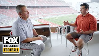 Ryan Day tells Urban Meyer his OSU team will be defined by 'toughness' | FOX COLLEGE FOOTBALL