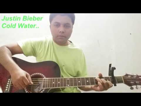 Cold Water | Justin Bieber | Guitar Lession | and Cover
