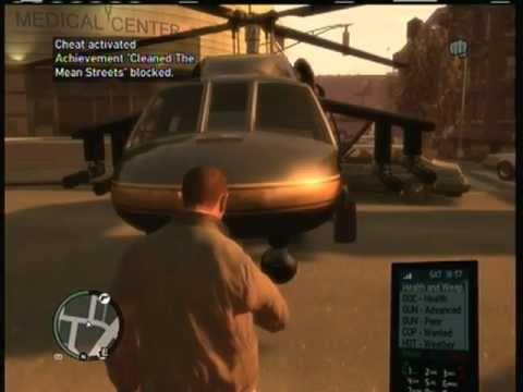 Grand Theft Auto 4 GTA IV GTA 4 Cheats Codes Cheat
