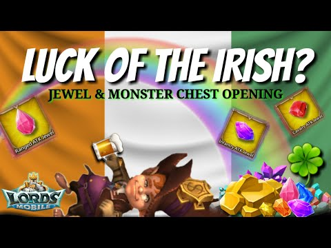 Opening Jewel And Monster Chests! - Lords Mobile