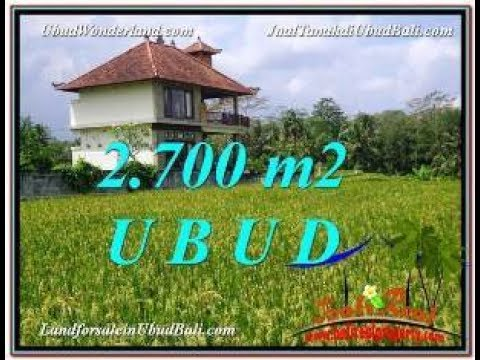 Affordable LAND SALE IN Ubud Tegalalang BALI Indonesia TJUB595