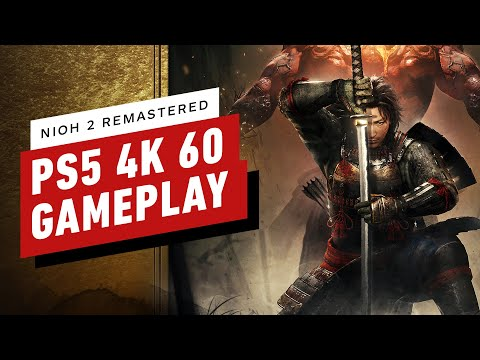 Nioh 2 Remastered on PS5 – 4K 60fps Gameplay in 4K Mode