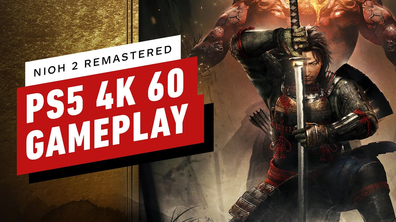 Nioh 2 Remastered on PS5 - 4K 60fps Gameplay in 4K Mode