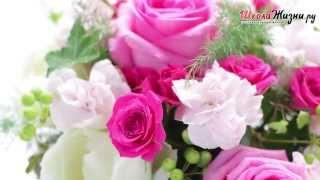 Смотреть видео увядают розы в вазе