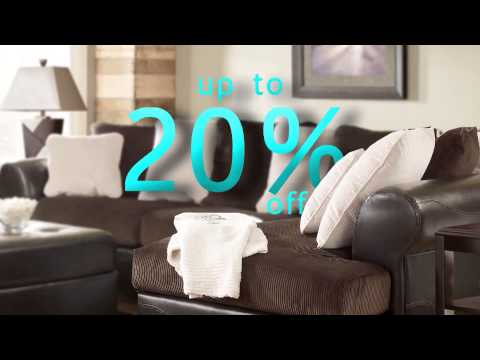 Presidents Day 2013   Ashley Furniture HomeStore Commercial By TOMA  Advertising.wmv