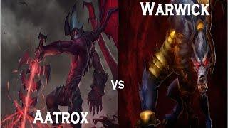 Warwick VS Aatrox / ¿quien creen que es mejor?