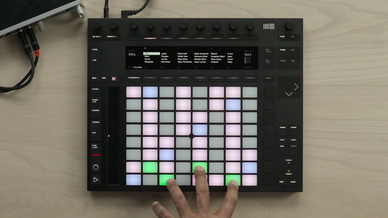 how to get ableton push working with ableton